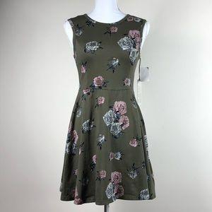 VANS Floral Stewart Skater Dress